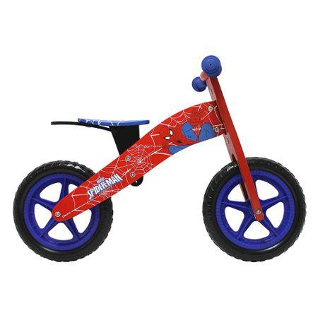 Bicicleta-Madera-Lahsen-Aro-12-Spiderman-Roja-BH11205R