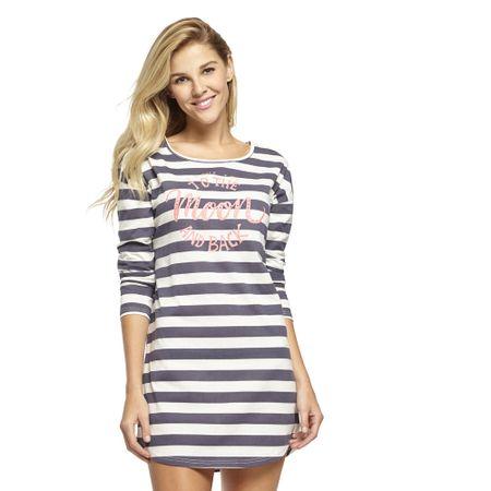 Pijama-Algodon-Manga-3-4-y-Pantalon-Con-Puño-Rosa-