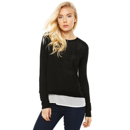 Sweater-Fabric-Mix-Negro-