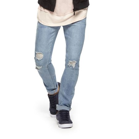 Jeans-Destroyed-Skinny-Cortado-PVIII-LT-Blue