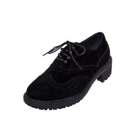 Zapato-Sport-Dama-Oxford-Negro-