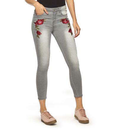 Jeans-Midrise-Bordado-Cropped-Gris-