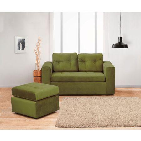 juego-de-living-kea-bilbao-sofa-2-cuerpos-1-pouf-felpa-oliva