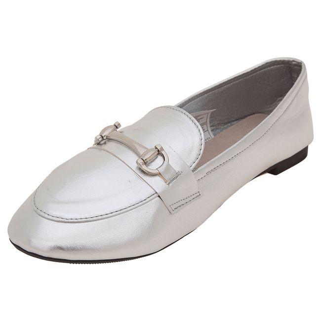 Zapato-Mujer-Mocasin-Metalico-Plateado-