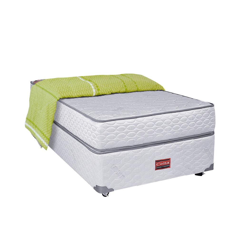 Box americano 1 plaza celta corona for Textil cama