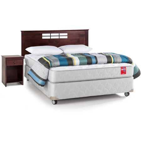 Box-Americano-Base-Normal-2-Plazas---Almohadas---Plumon---Maderas-Rosen-