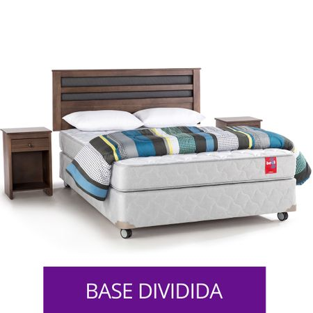 Box-Americano-Base-Normal-2-Plazas-Rosen---Almohadas-Plumon-Maderas-