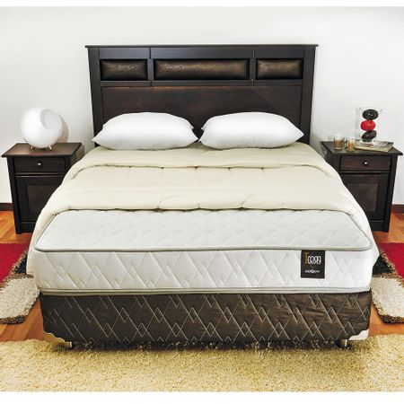 Box-Spring-Base-Normal-2-Plazas-Rosen---Almohadas---Plumon---Set-Maderas-Bilbao-