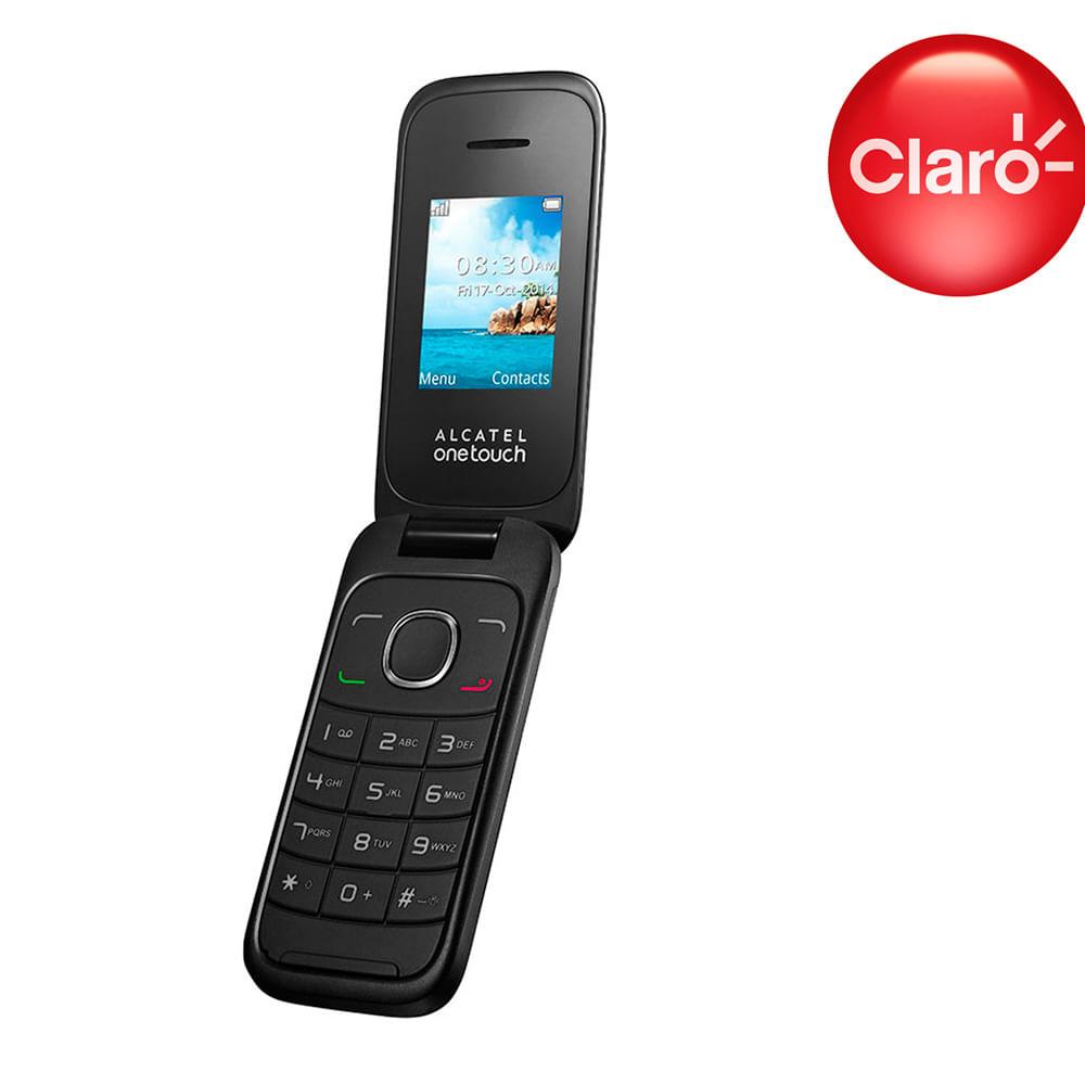 54605595d65 Celular Negro Claro Alcatel - Corona