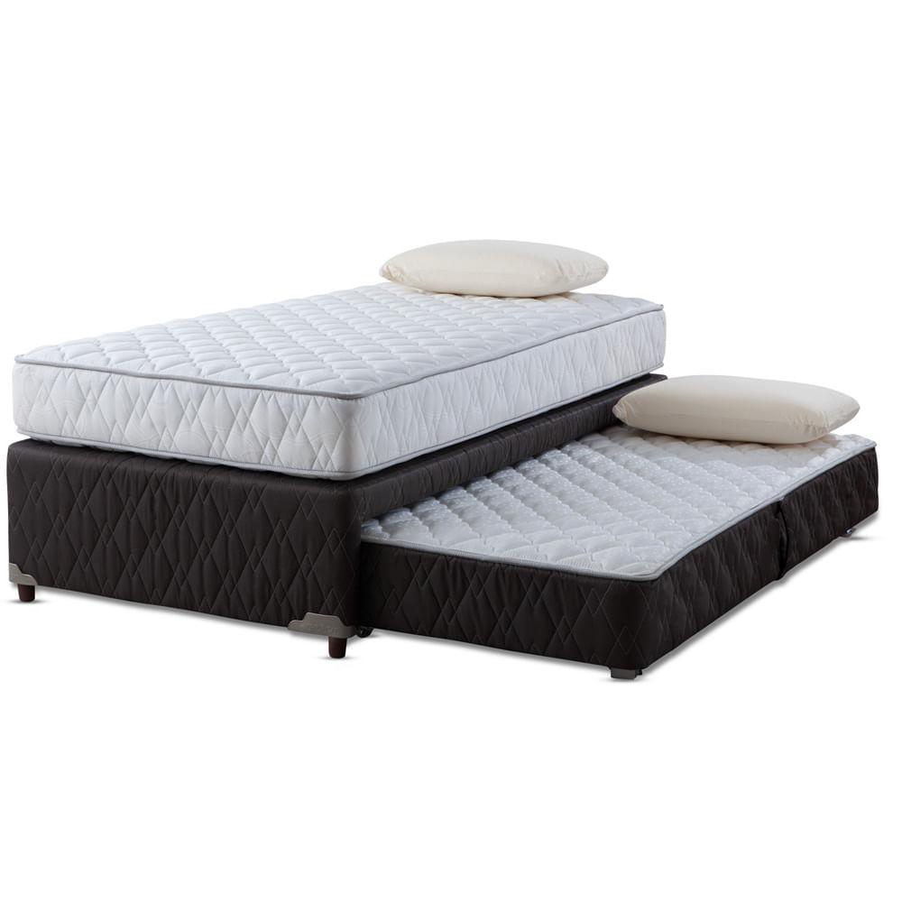 div n cama 1 1 2 plazas rosen almohadas corona