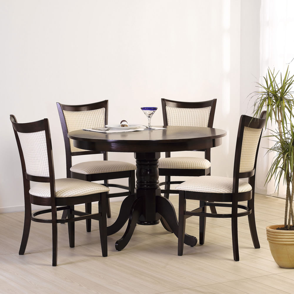 Juego de comedor 4 sillas calabria cic corona for Comedores de exterior baratos