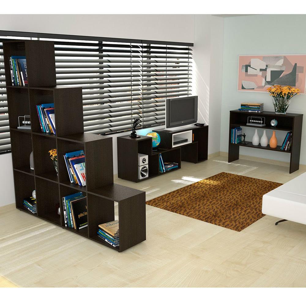Oferta-Corona---Rack---Biblioteca---Mesa-de-Arrimo---Mesa-de-Centro-