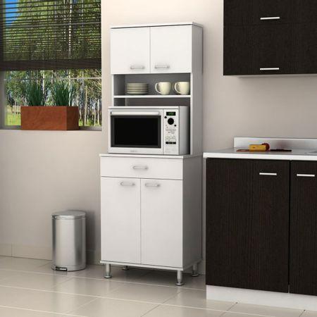 Mueble de cocina 60 blanco tuhome corona for Precio muebles cocina
