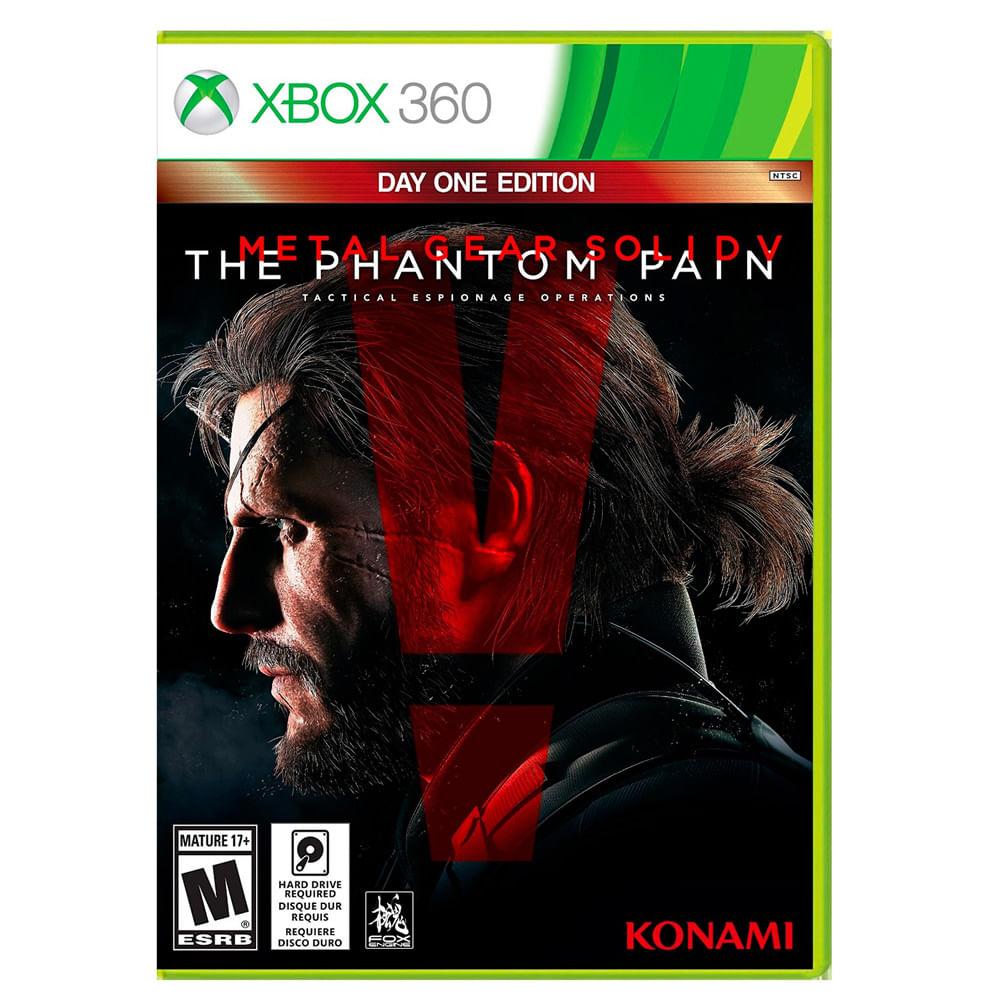 Juego Xbox 360 Metal Gear Solid V Corona