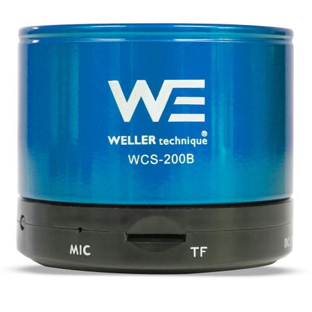 Parlante-Bluetooth-Weller-WCS-200-Blue