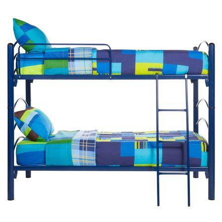 Camarote-Desmontable-1-Plaza-Mantahue--90x190--2-Colchones-de-Espuma---Set-Textil-Sevilla-Azul