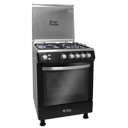 Cocina-4-Quemadores-Ursus-Trotter-UT-Euro-60-Black-Gas-Licuado-68-litros