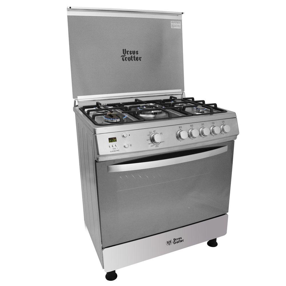 Cocina-5-Quemadores-Ursus-Trotter-80-Pro-Gas-Natural-104-litros