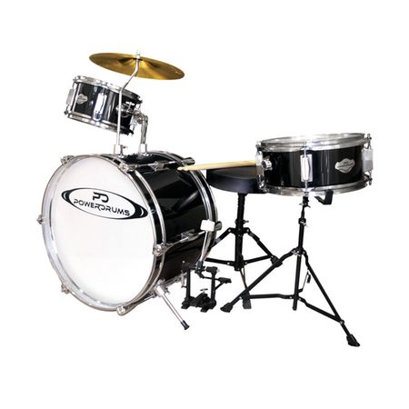 Set-de-Bateria-para-niño-Powerdrums-PD-02-Negra