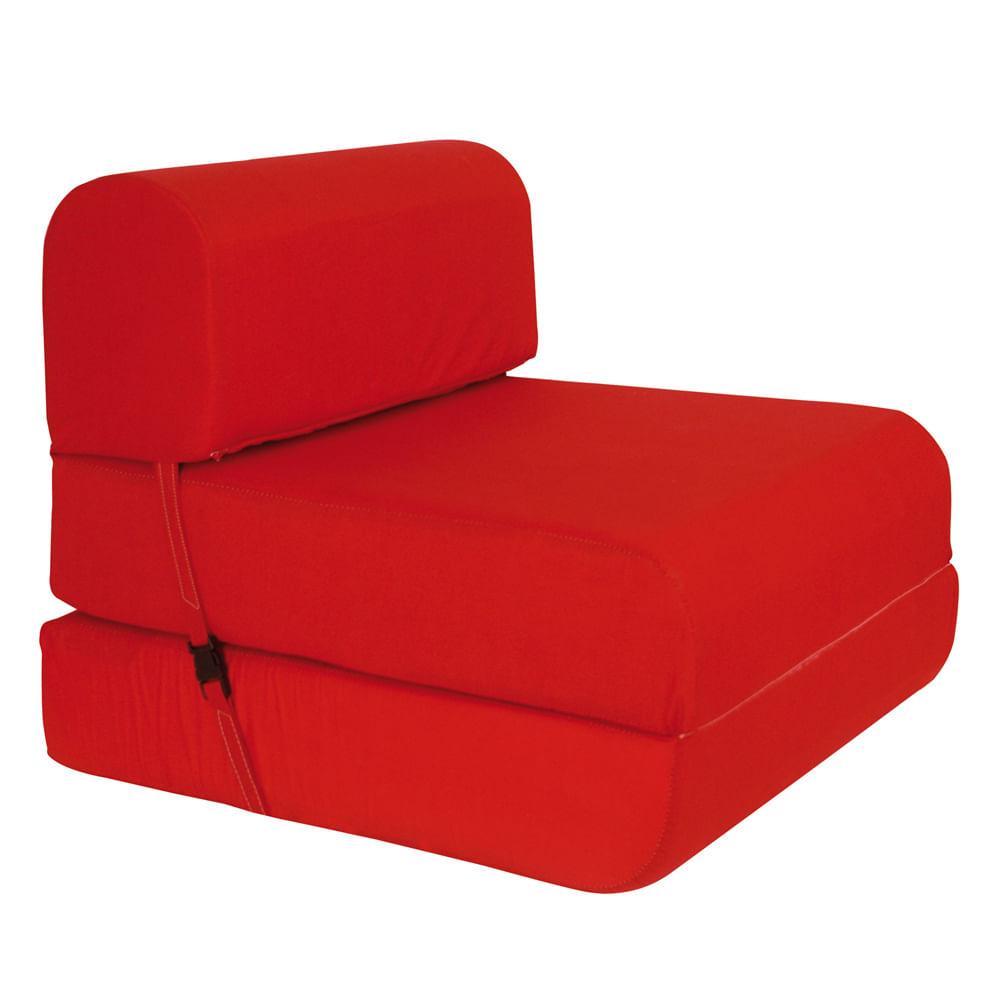 Sill N Cama Celta 65 Cms Densidad 15 Rojo Corona