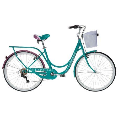 Bicicleta-Aro-26-Oxford-Metropolitan-BP2652-Turquesa