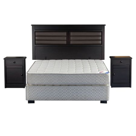 Cama-Europea-2-Plazas-Base-Normal-Flex-Therapedic-Chocolote----Maderas-Florencia
