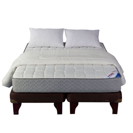 Cama-Europea-King-Plaza-Flex-Therapedic-Chocolate---Textil