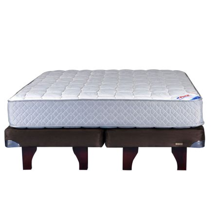 Cama-Europea-2-Plazas-Base-Dividida-Flex-Therapedic-Chocolate