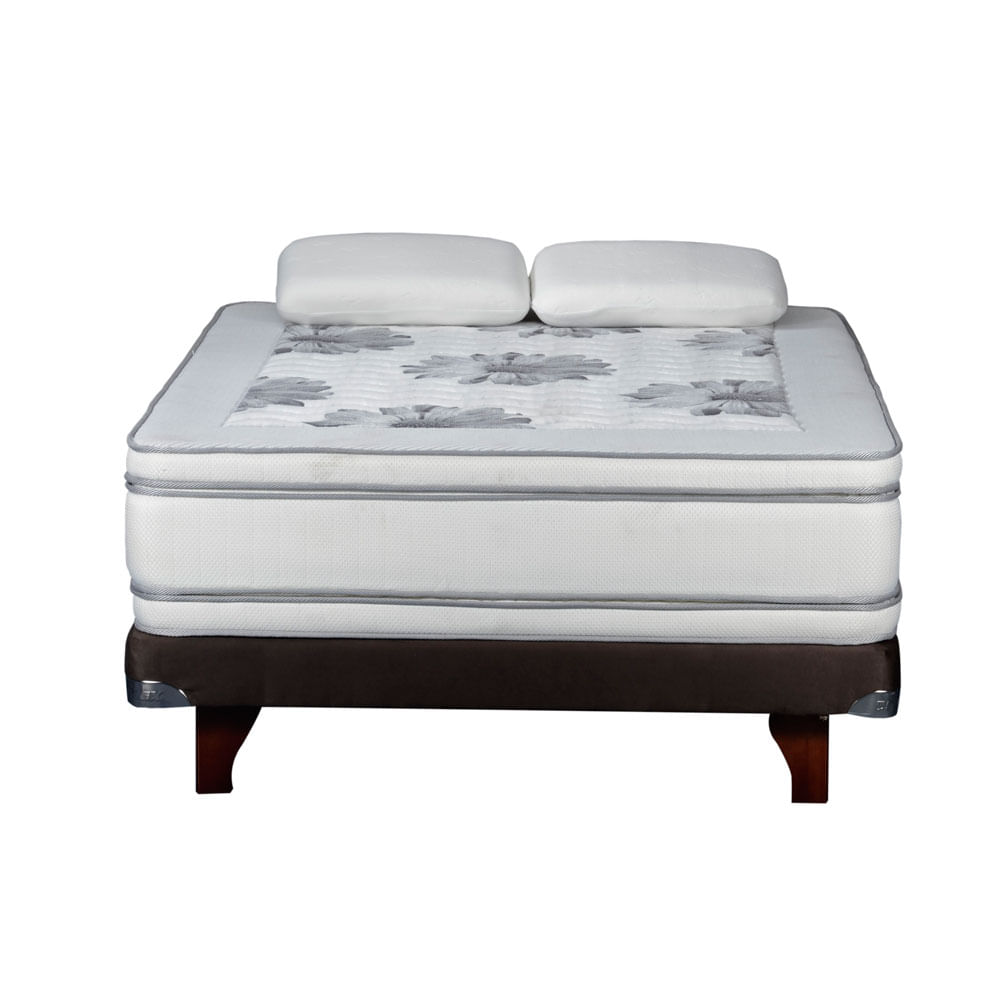 Cama-Europea-2-Plazas-Base-Normal-Flex-Majesty----Almohadas-Viscoelesticas