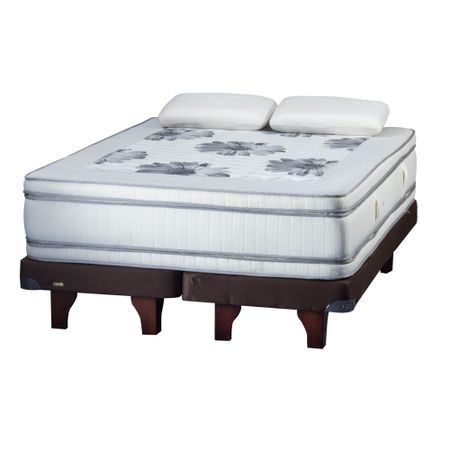 Cama-Europea-2-Plazas-Base-Dividida-Flex-Majesty----Almohadas-Viscoelesticas