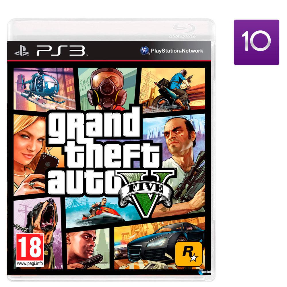 Juego Ps3 Grand Theft Auto V Corona