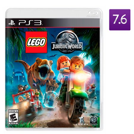 Juego-PS3-Lego-Jurassic-World