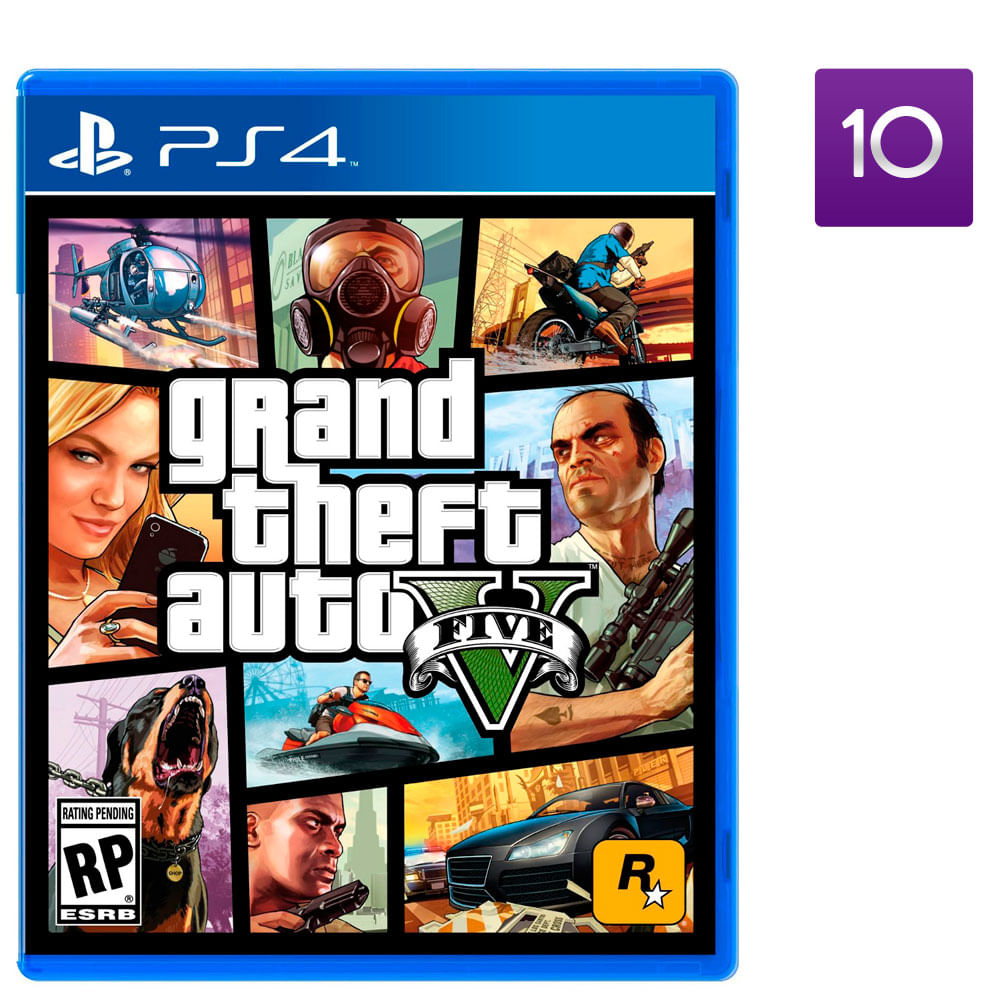 Juego Ps4 Grand Theft Auto V Corona