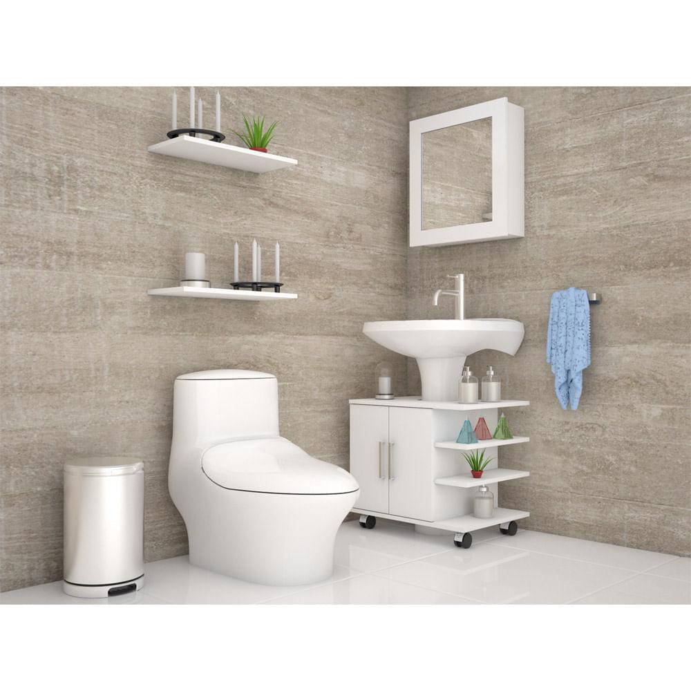 Combo-TuHome-Botiquin-Bath-47-B----Optimizador-Lavamanos-55-Blanco