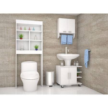 Combo-TuHome-Botiquin-Bath-28---Optimizador-Lavamanos-55---Bath-20-Blanco