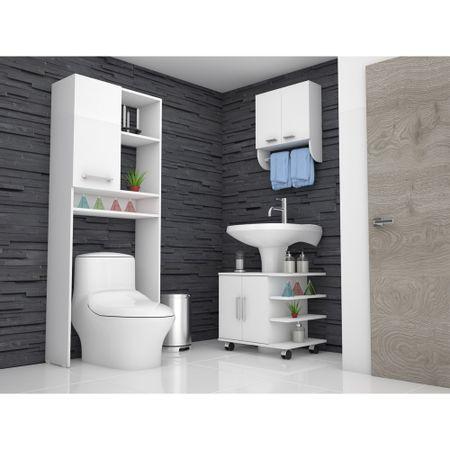 Combo-TuHome-Botiquin-Bath-28---Optimizador-Lavamanos-55---Bath-26-Blanco