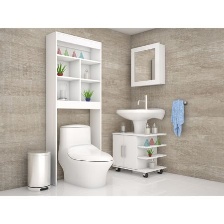 Combo-TuHome-Botiquin-Bath-47-B---Optimizador-Lavamanos-55---Blath-20-Blanco