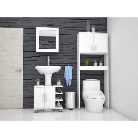 Combo-TuHome-Botiquin-Bath-47-B---Optimizador-Lavamanos-55---Bath-63-A-Blanco