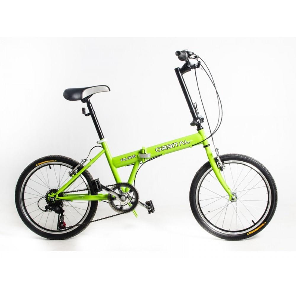 Bicicleta-Aro-20-Orbital-Folding-Verde-Fluor