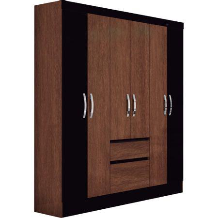 Closet-Roch-6-Puertas-2-Cajones-M-2013-7-Avellana-Negro