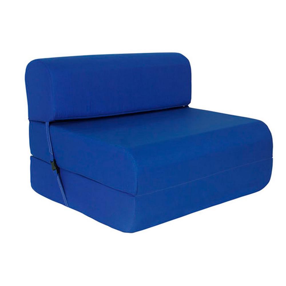 Sill n cama celta 65 cms densidad 15 rojo corona for Sillon cama desplegable