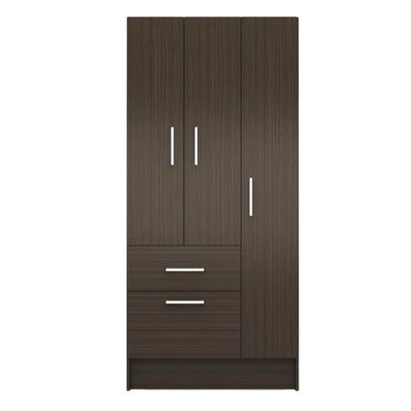 Closet-3-Puertas-2-Cajones-Silcosil-Chocolate