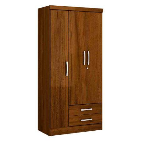 Closet-3-Puertas-2-Cajones-Yardas--S443--Teca-Alto-Brillo
