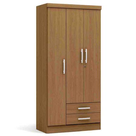 Closet-3-Puertas-2-Cajones-Yardas--S443--Nogal-Opaco
