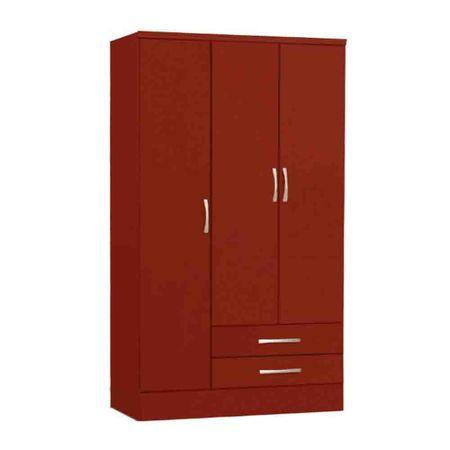 Closet-3-Puertas-2-Cajones-Yardas--S443--Teca-caoba-Brillo