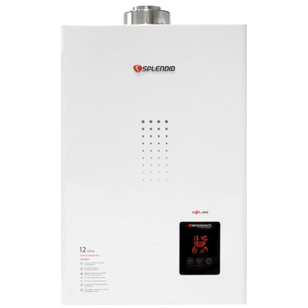 Calefon-Ionizado-Splendid-GN-Templatech-Full-Control-Solar-Blanco-Tiro-Forzado-12-Litros