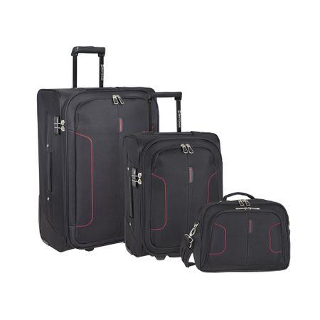 set-de-maletas-saxoline-3-pzs-atlanta-negro