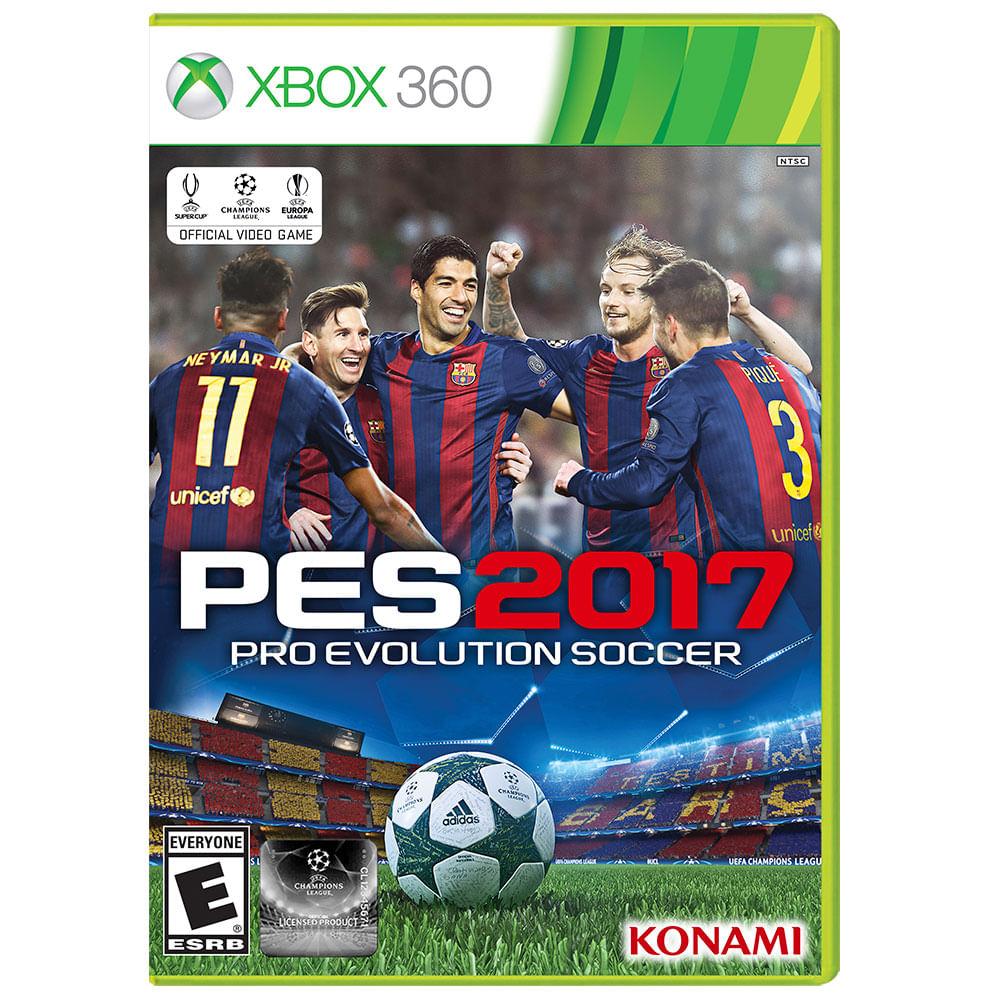 Juego Xbox 360 Konami Pes 2017 Corona