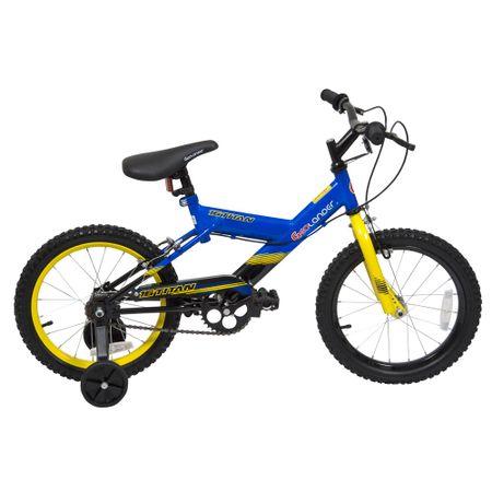 Bicicleta-Aro-16-Geolander-Niño-Titan-Azul-Amarillo