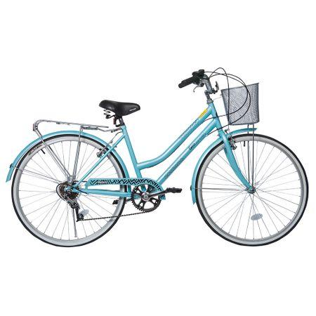Bicicleta-Aro-26-Geolander-Mujer-Urban-Crusier-Turquesa
